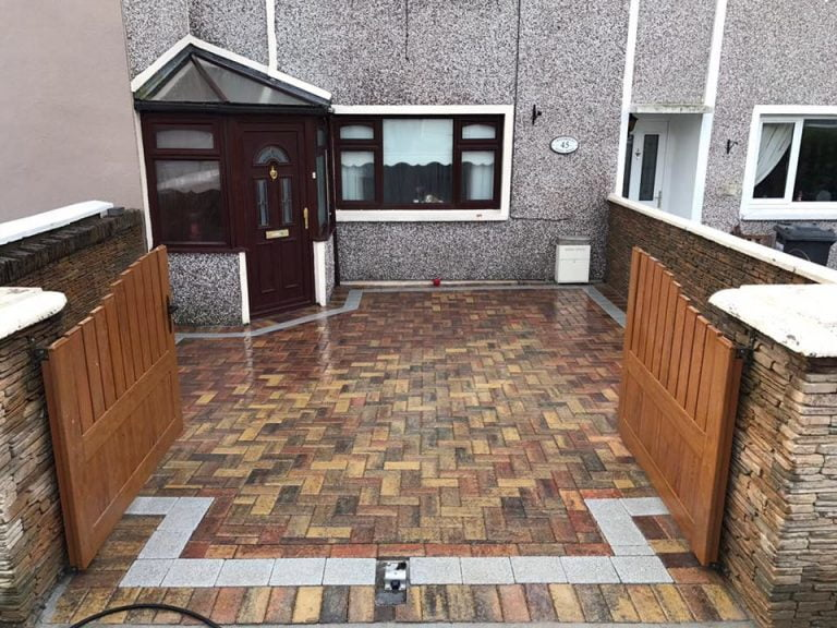 Driveway Built Using Block Paving in Cork