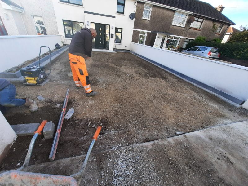 New Concrete Base, SMA Asphalt Finish In Blackrock, Cork, Ireland