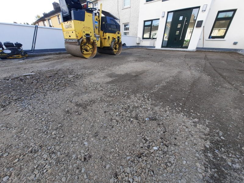 New Concrete Base, SMA Asphalt Finish In Blackrock, Cork, Ireland