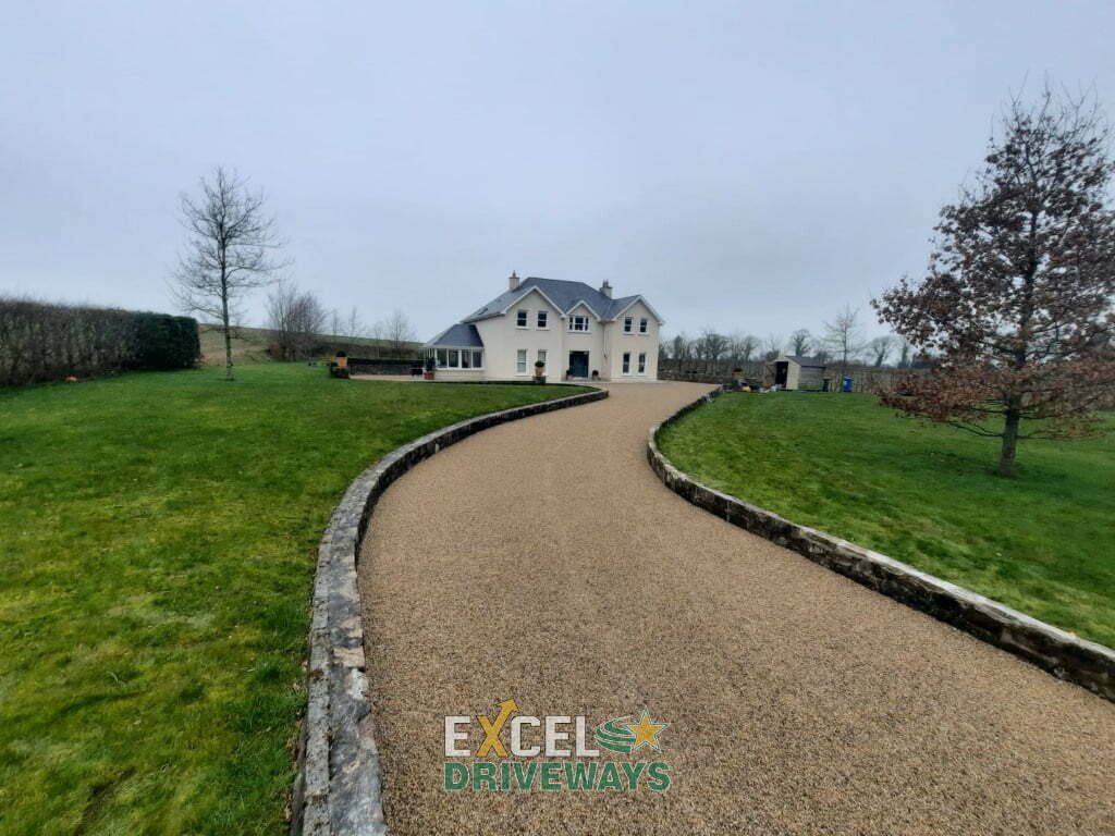 Tar and Golden Gravel Chip Driveway in Mallow Co. Cork 5