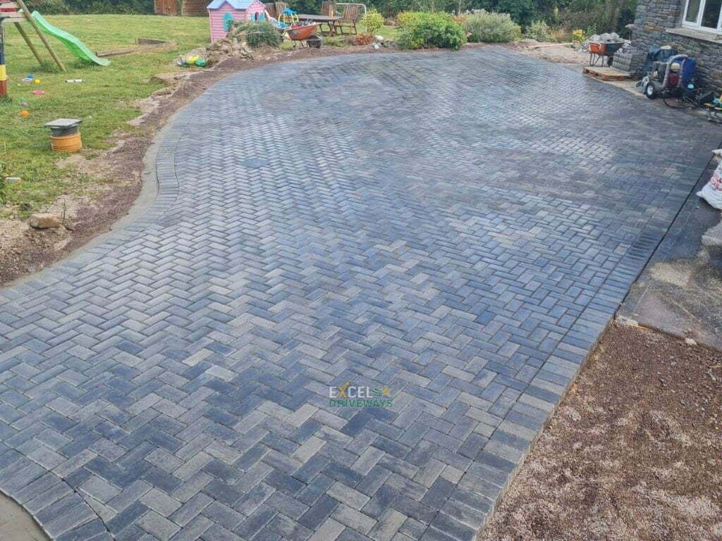 Large Block Paved Patio in Cobh Co. Cork 10