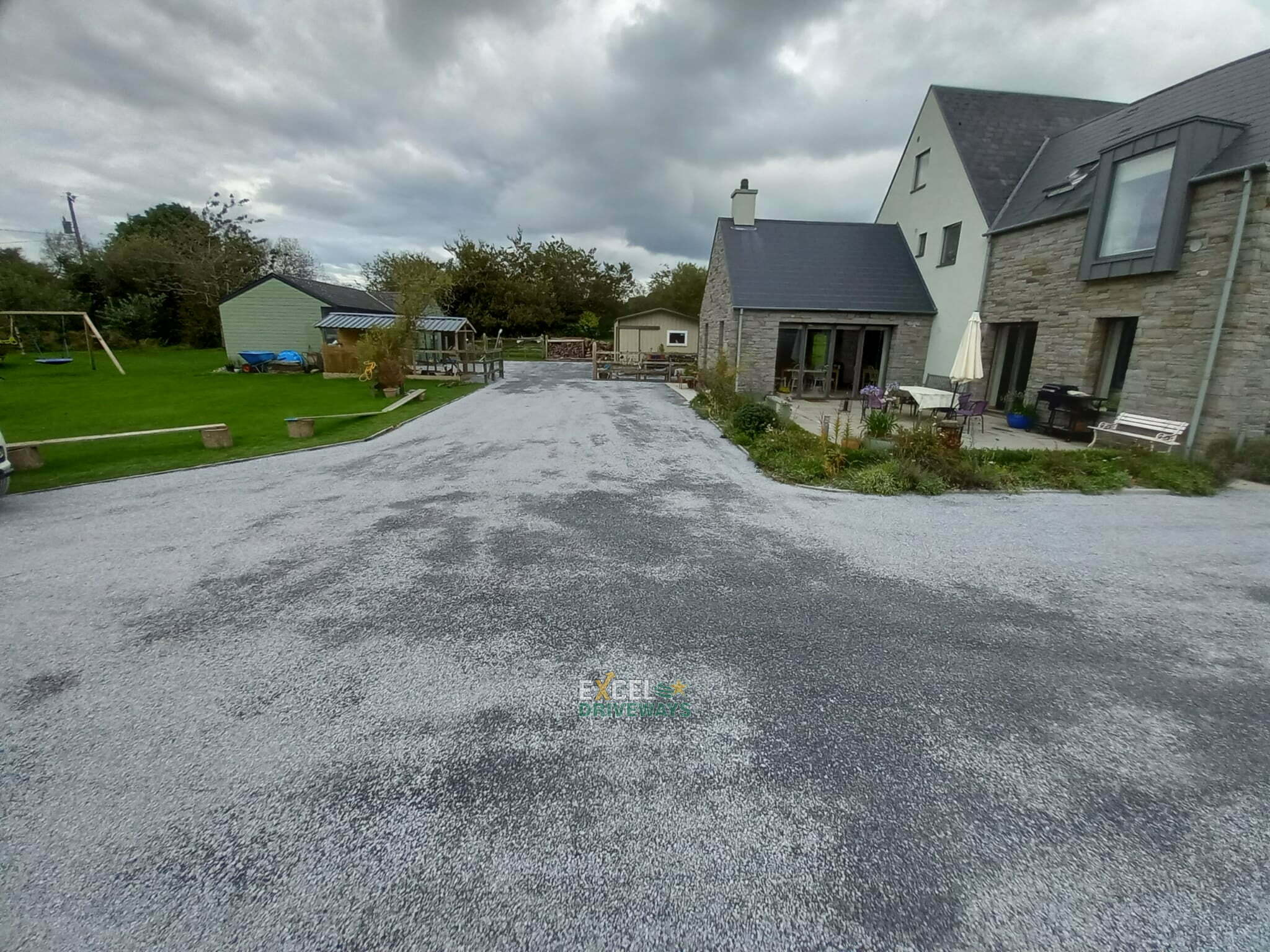 Large Tar and Chip Driveway in Carrigaline Cork 10