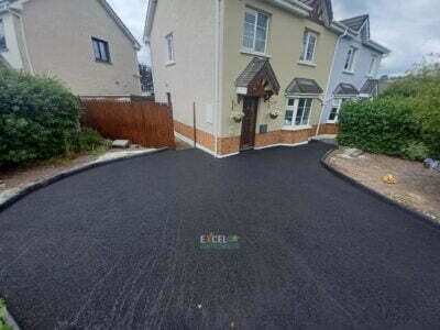 Small SMA Driveway Completed in Kinsale Cork