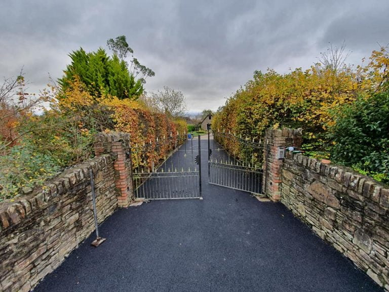 Tarmac Driveway Entrance By Excel Driveways in Cork