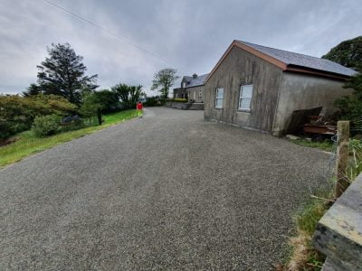 Bitumen and Chip Driveway in Rosscarbery, Cork
