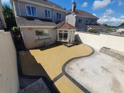 Buff Granite Patio in Carrigaline, Co. Cork