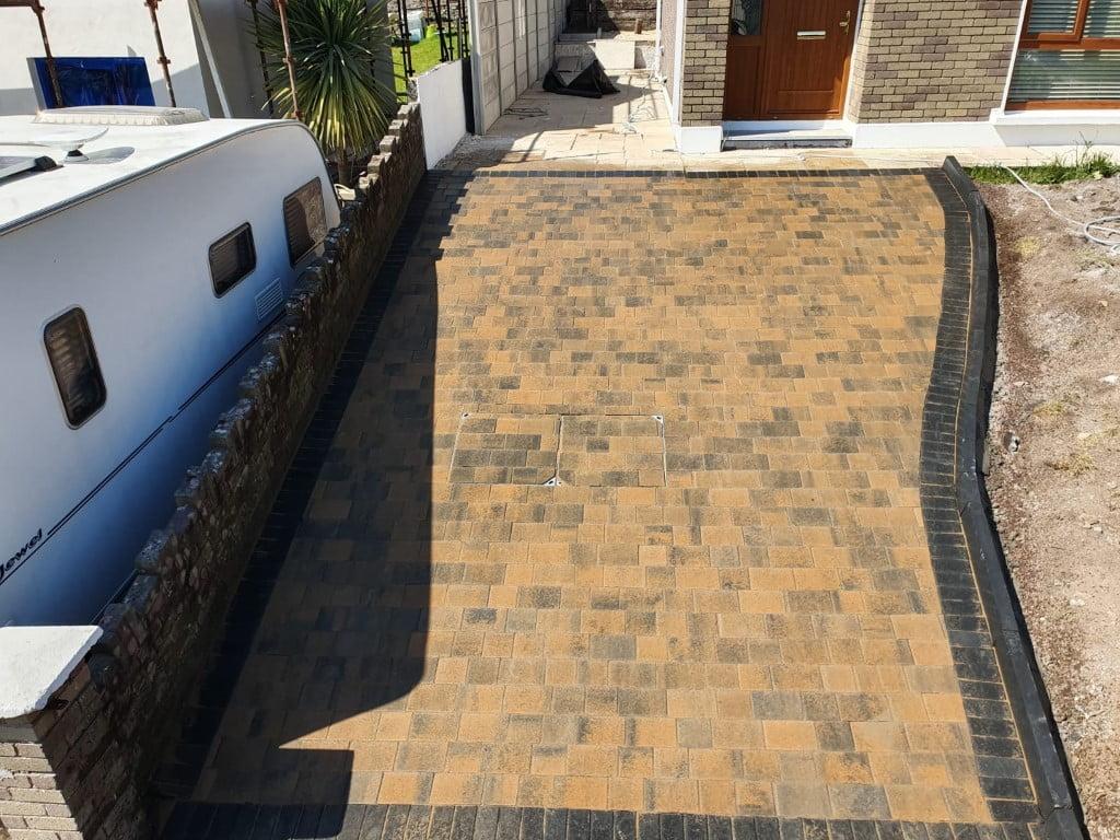 Curragh Blend Block Paving Driveway in Cork City 3