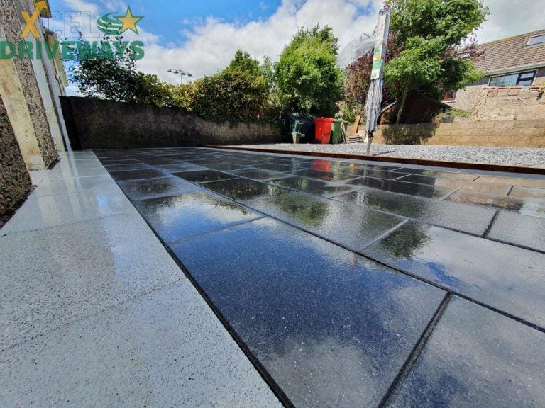 Granite Patio in Carrigaline, Co. Cork