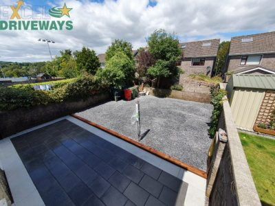 Granite Patio in Carrigaline, Co. Cork