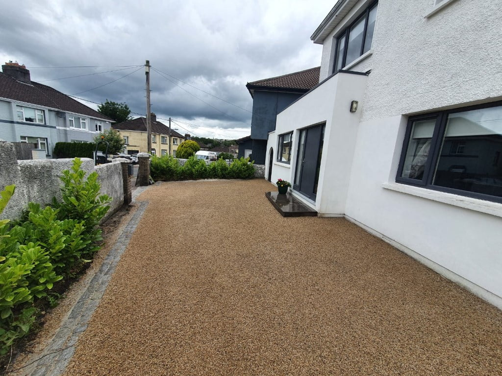 Hot Tar and Chip Driveway in The Lough Cork 10