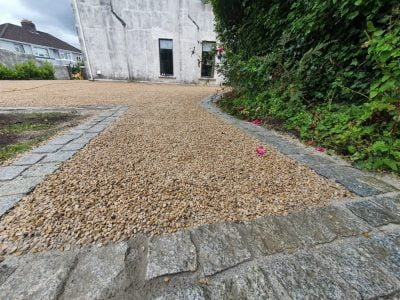 Hot Tar and Chip Driveway in The Lough, Cork