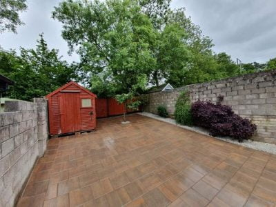 Large Back Garden Patio in Glanmire, Cork