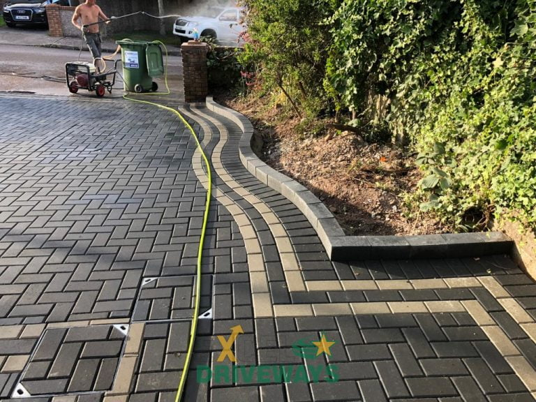 New Block Paving Driveway Finished in Carrigaline, Co. Cork