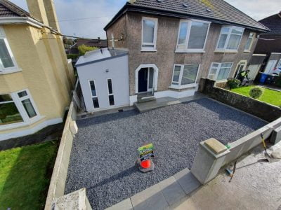 New Gravel Driveway with Stone Steps in Ballinlough Cork 5 2