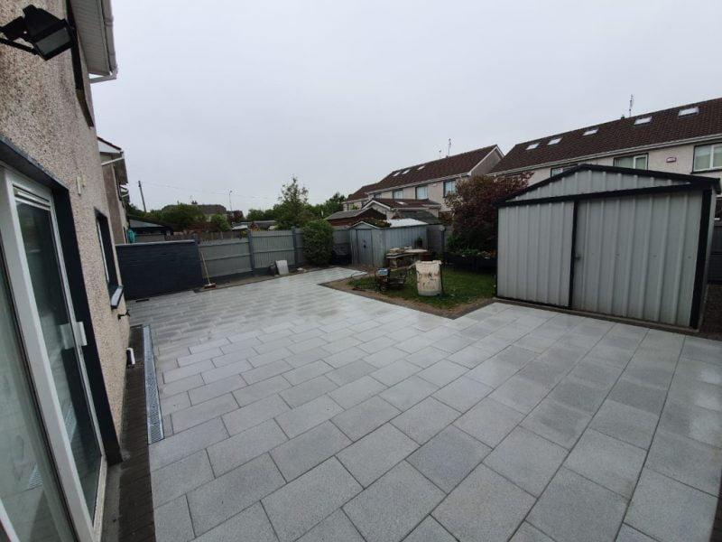 Grey Natural Patio in Mallow