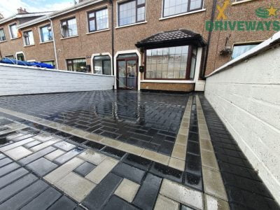 Patterned Block Paving Driveway in Cork City