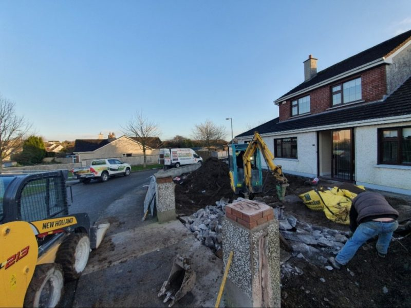 SMA Asphalt Driveway with Granite Patio in Carrigaline Co. Cork 1