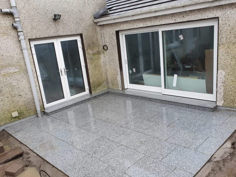 SMA Asphalt Driveway with Granite Patio in Carrigaline Co. Cork 3 1