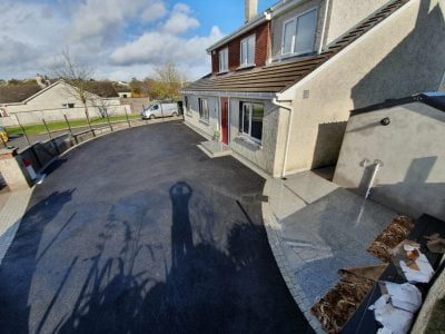 SMA Asphalt Driveway with Granite Patio in Carrigaline Co. Cork 5 1