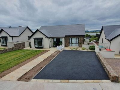 SMA Driveway with Sandstone Pathway in Douglas, Cork (4)