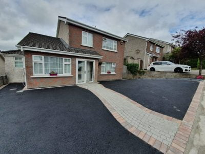 SMA Driveway with a Cobble Set Driveway in Glanmire, Co. Cork