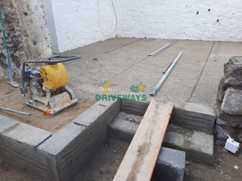 Silver Granite Patio in Kildorrery, Co. Cork