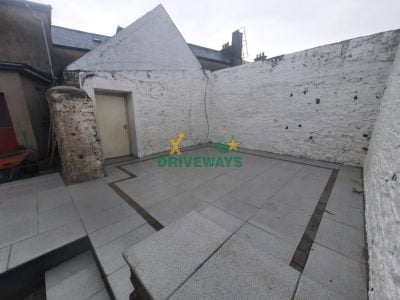 Silver Granite Patio in Kildorrery, Co. Cork