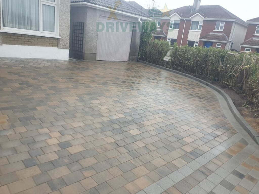 block paving driveways cork 4