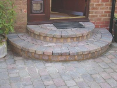 Step Building on Driveway