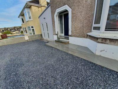 Natural grey driveway in Bantry