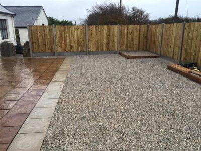 Gravel Patio Area in Bantry, West Cork