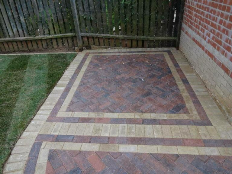 Garden Patio Paving in Cork