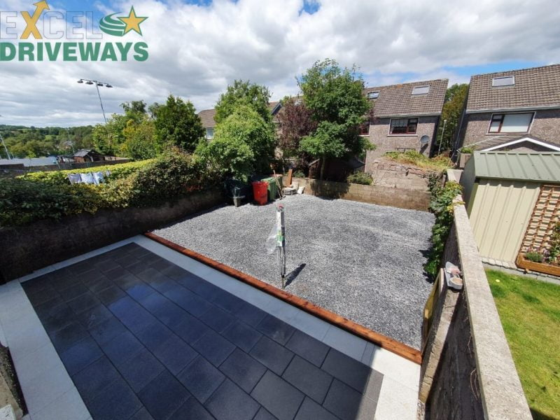 Building a Patio in Bantry, West Cork