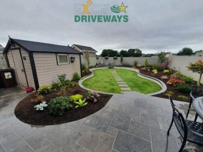 New Patio and Lawn in Bantry, Cork