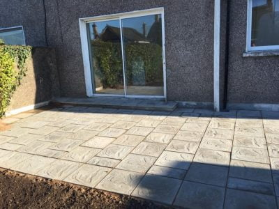 Newly Laid Patio in Bantry