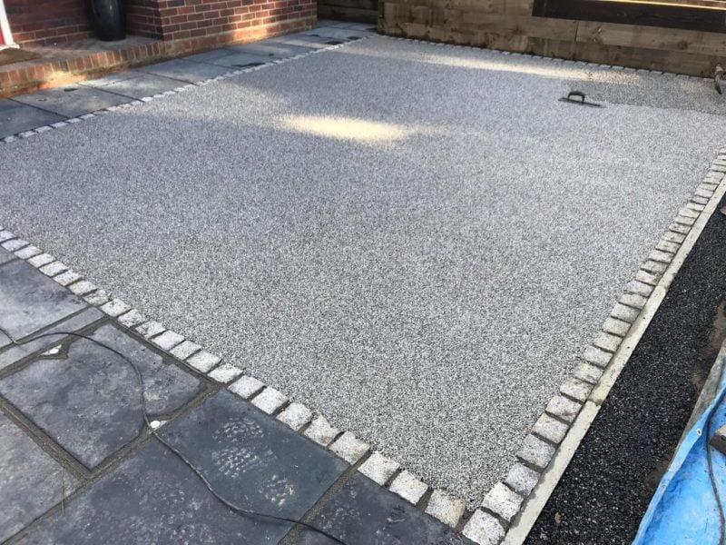 Silver Granite Resin Driveway in Bantry
