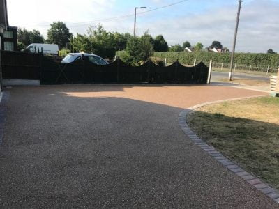 Gold Resin Driveway in Bantry