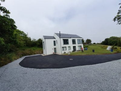 Newly Resurfaced Tarmac Driveway in Bantry