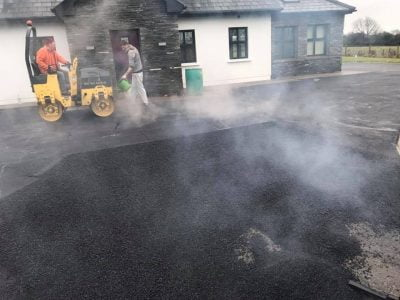 Laying A Tarmac Driveway in Bantry